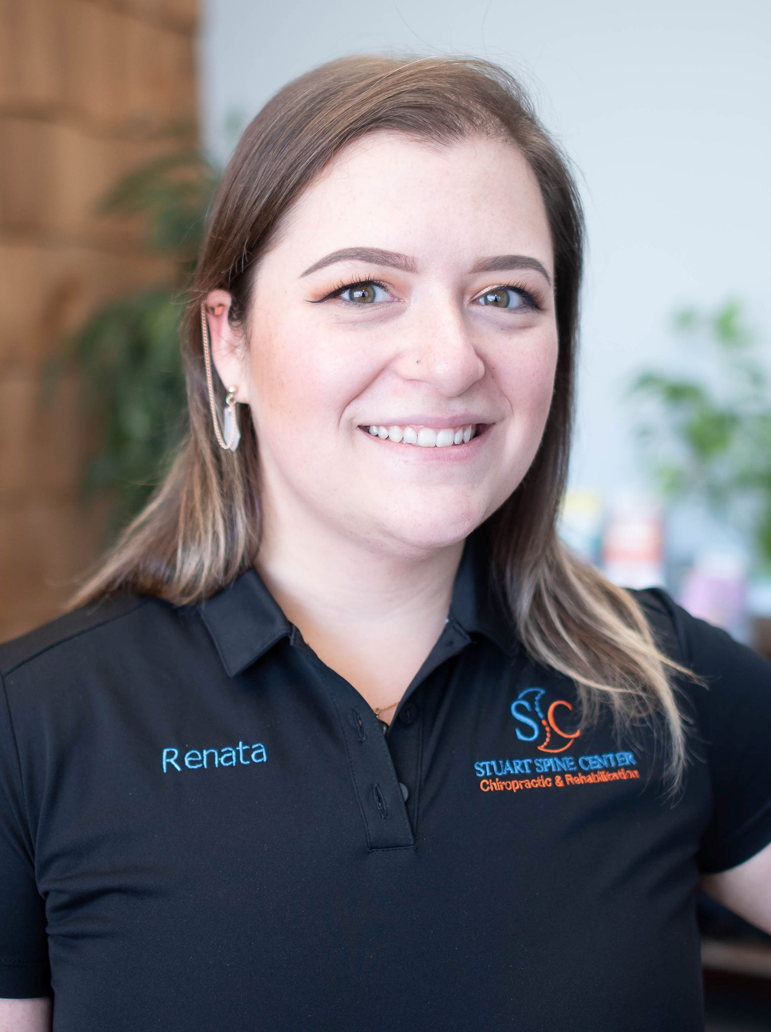 office manager Renata Andrejszky